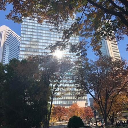 新宿の秋☆バスツアー出発はここ1.jpg